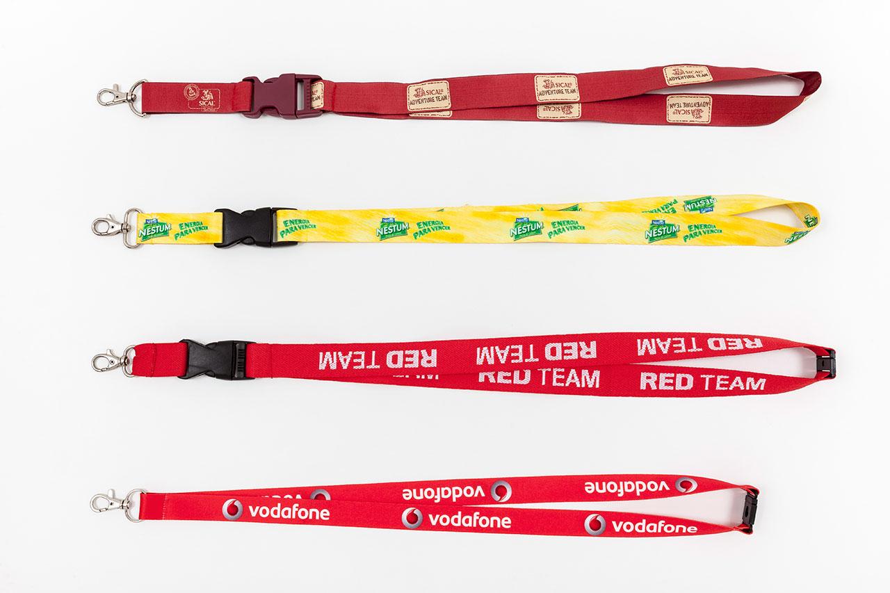 fitas de pescoços personalizadas