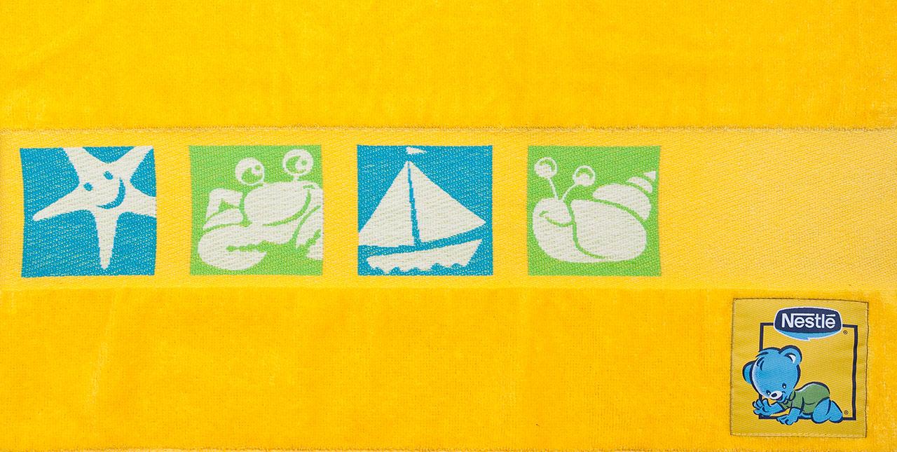 toalha de bebé personalizada