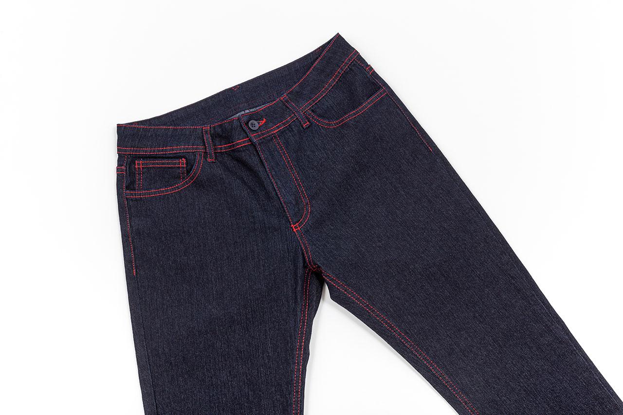 calças de ganga personalizadas
